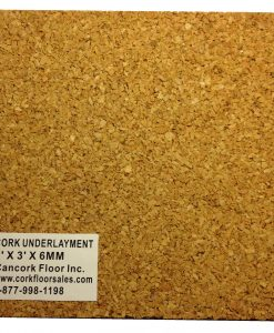 3mm cork underlayment sample