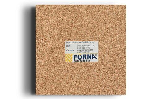6mm underlayment Forna cork sample