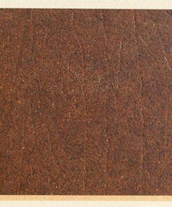Burnt Sienna cork leather sample