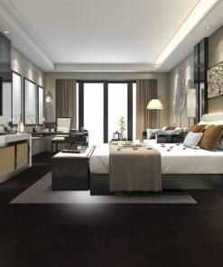 Jet black forna cork tiles eco bedroom Interior design architecture photos