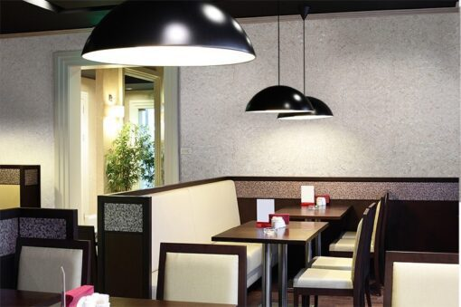 Restaurant wall tiles creme cork wall tiles modern hotel interior