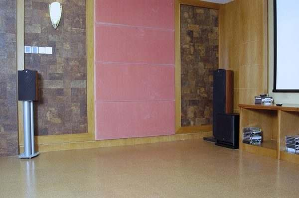 Why cork flooring for your Home Entertainment room