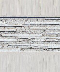 ash slate 12mm half inch thick cork peel and stick wall panels