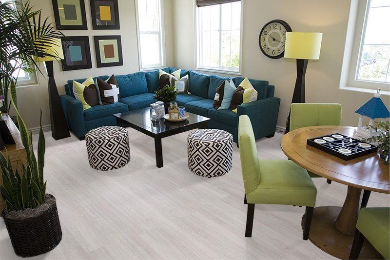 ash wood fusion cork floor luxury home living room contemporary decor