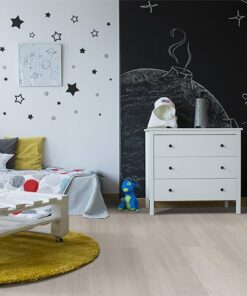 ash wood fusion cork flooring creative spacethemed childrens room blackboard wall