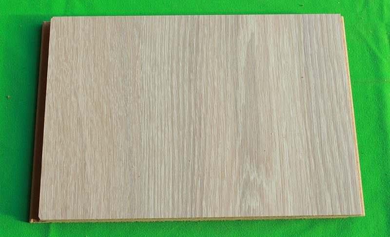 ash wood fusion cork flooring sample