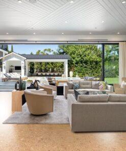 autumn leave mansion cork floor best eco-friendly flooring options lowest environmental impact