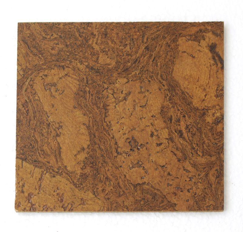 autumn ripple 4mm forna cork tiles sample