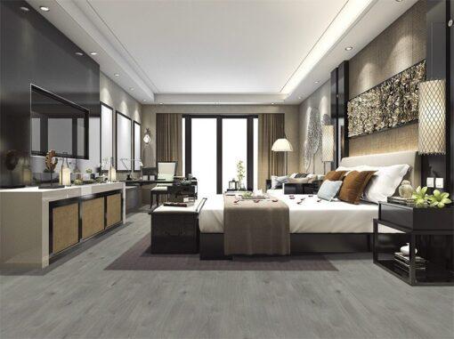 barn wood fusion cork floor eco wood luxury modern bedroom suite in hotel