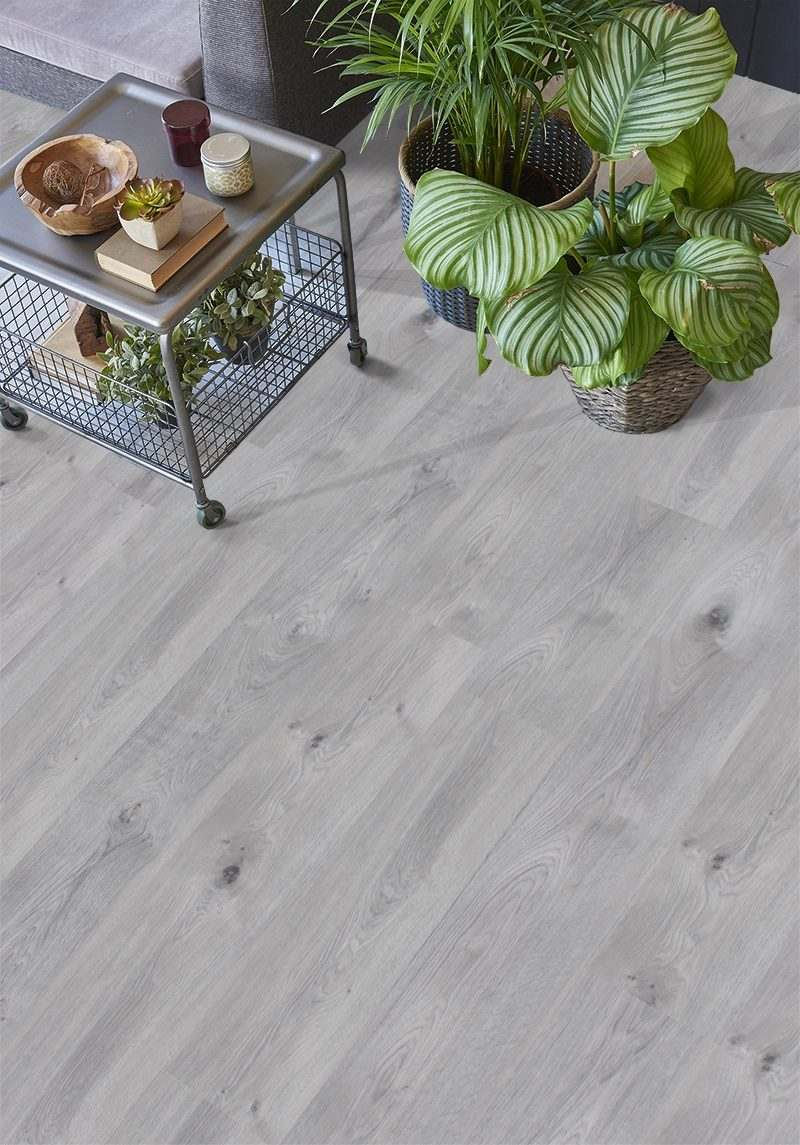 barn wood fusion cork floor modern interior detail trend