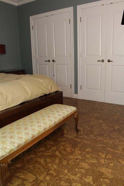 bedroom ideas cork flooring rocky
