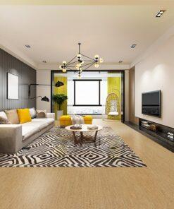 berber cork flooring design modern dining room and living room interior architecture