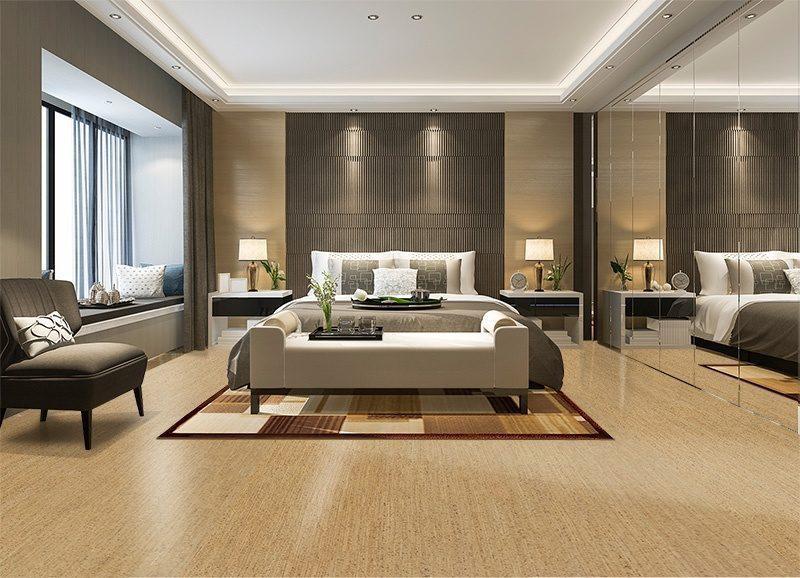 berber forna cork floor bedroom suite in hotel soft mirror wardrobe