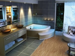 Best Bathroom Flooring Cork Tile For