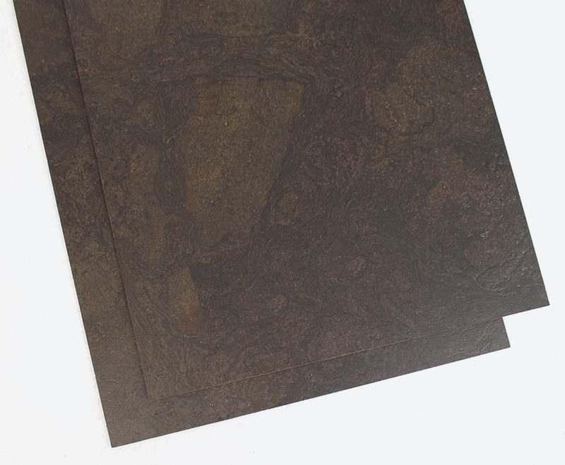 Cork Tiles Black Ripple Icork Floor