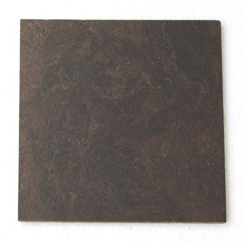 black ripple forna cork tiles sample