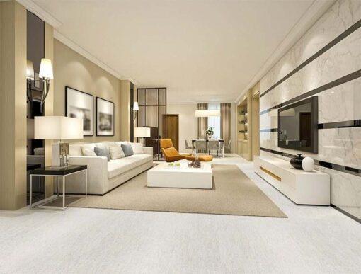 bleached birch forna cork floor modern living room off white