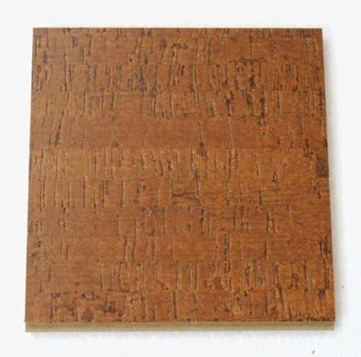 brown birch floating cork flooring 11mm sample
