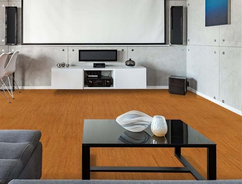 brown birch home theatre interior projector