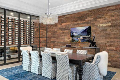 brown brick cork wall panels modern wine cellar wall design acoustic.jpg