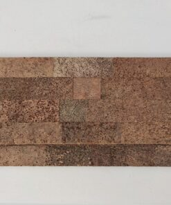 brown bricks cork wall panels tiles sound proof acoustic walls