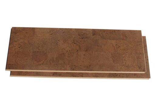 brown leather cork flooring click uniclic floating plank