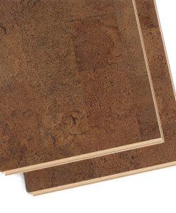brown leather floating cork floating flooring planks