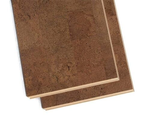brown leather floating cork floating flooring planks