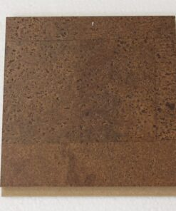 brown leather floating cork flooring 11mm sample