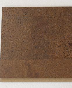 brown leather floating cork flooring 11mm sample