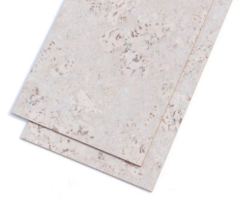 ceramic marble comfortable cork tiles glue down white colour