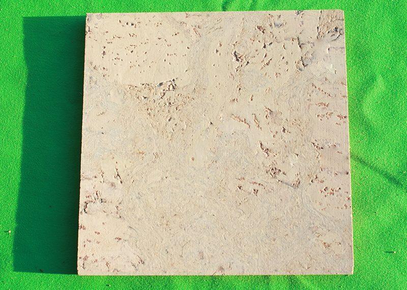 ceramic marble cork tiles glue down sample