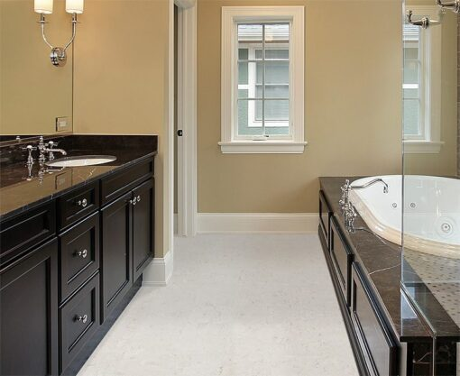 ceramic marble forna waterproof cork tiles master bath new construction home with black tub area