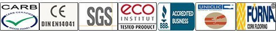certifications cork flooring forna