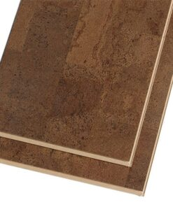 Click Lock Flooring Brown Leather Cork 11mm Floating