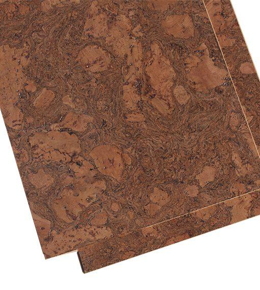 Colored Cork Flooring Tasmanian Burl 6mm Cork Tiles