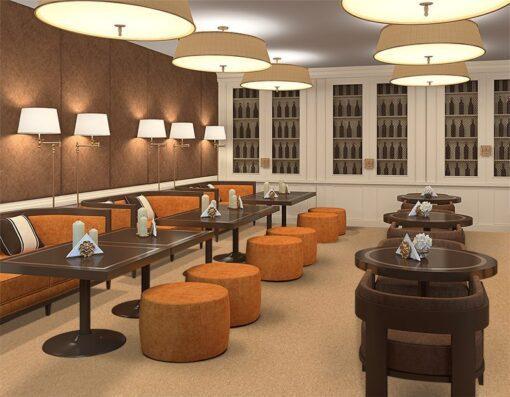 comfort floor cork forna restaurant flooring ideas-solutions