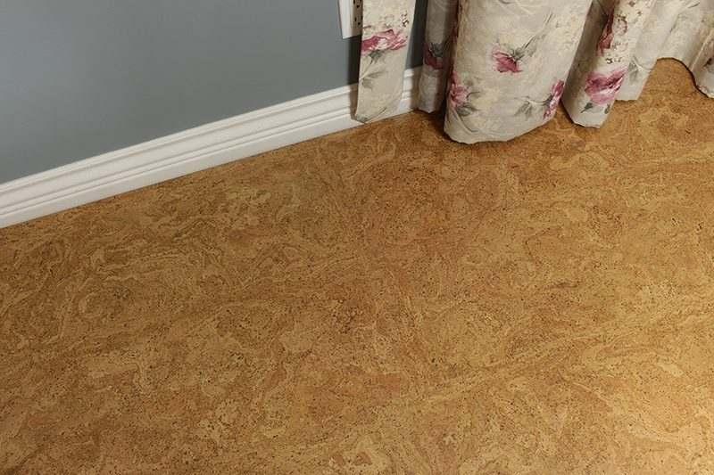 Cork Board Floor Desert Arable 10mm Forna Floating