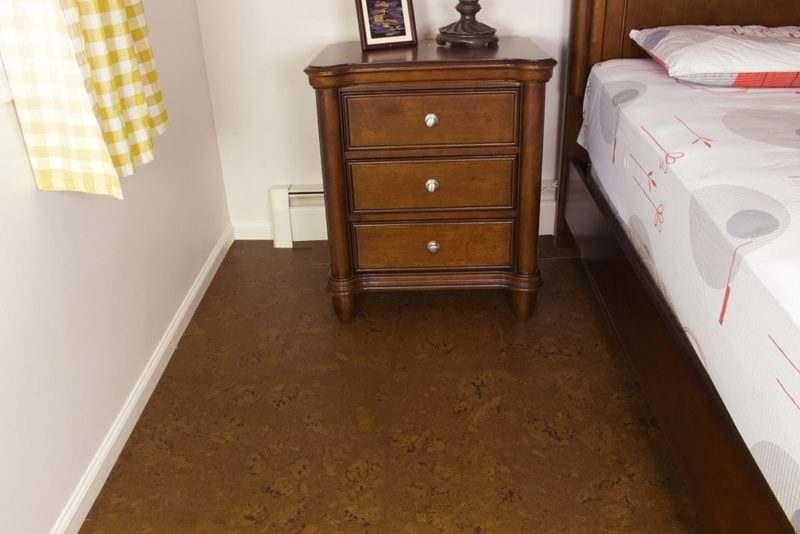 cork board flooring autumn ripple 12mm bedroom forna