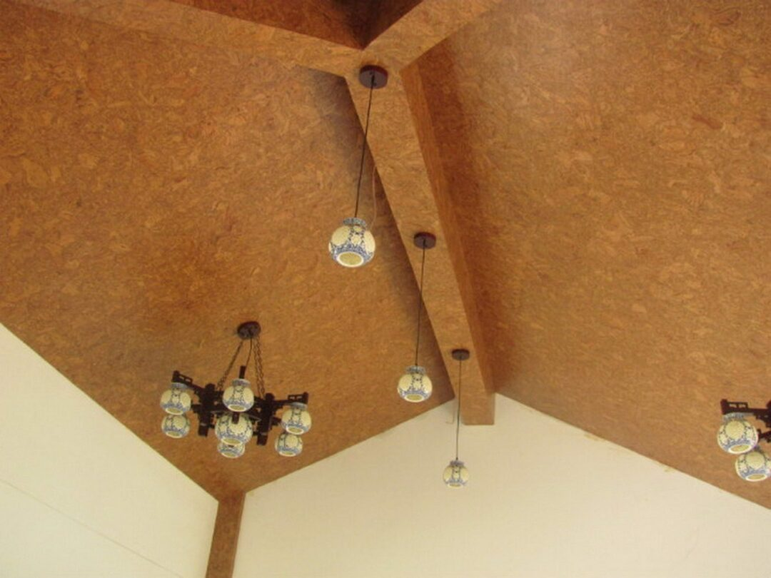 cork ceiling tiles salami insulation
