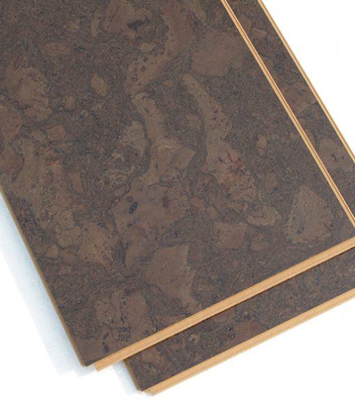 cork floor planks walnut burlwood dark parpular