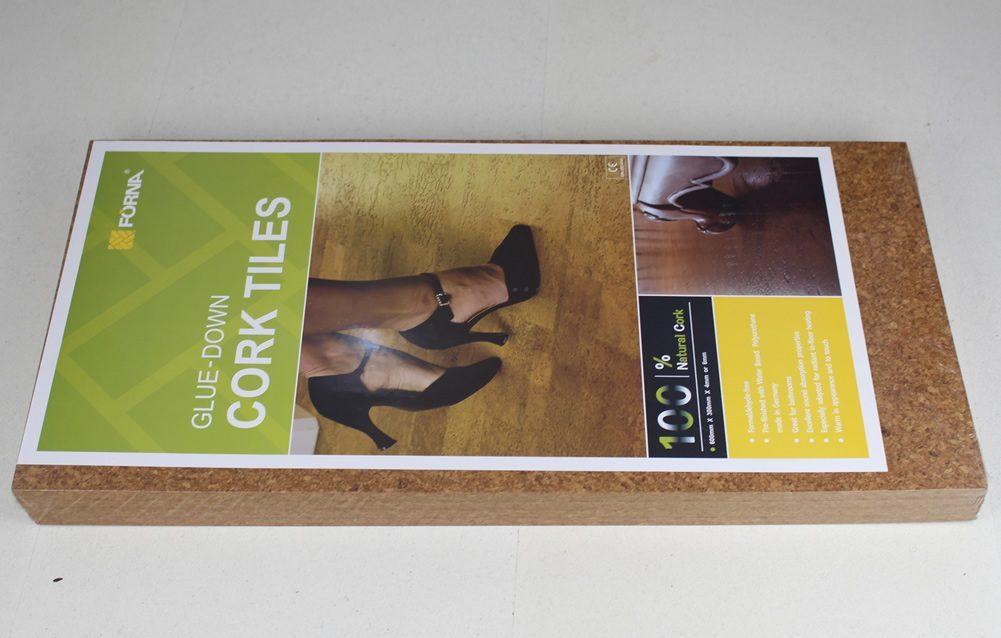 cork floor tiles for weight room