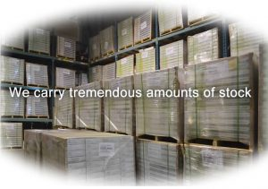 cork flooring carry large amounts stock