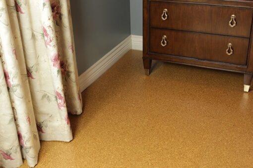 cork floors golden beach forna bedroom natural