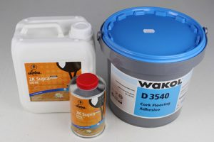 cork glue wakol water base polyurethane loba