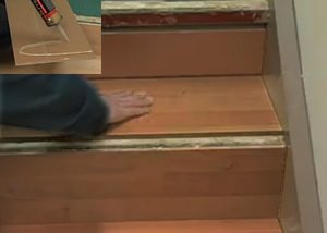 Exceptionnel ... Stair Surface. Cork Stairs Installation Treads