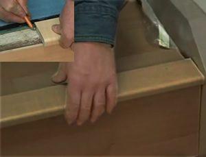 cork stairs nosing install
