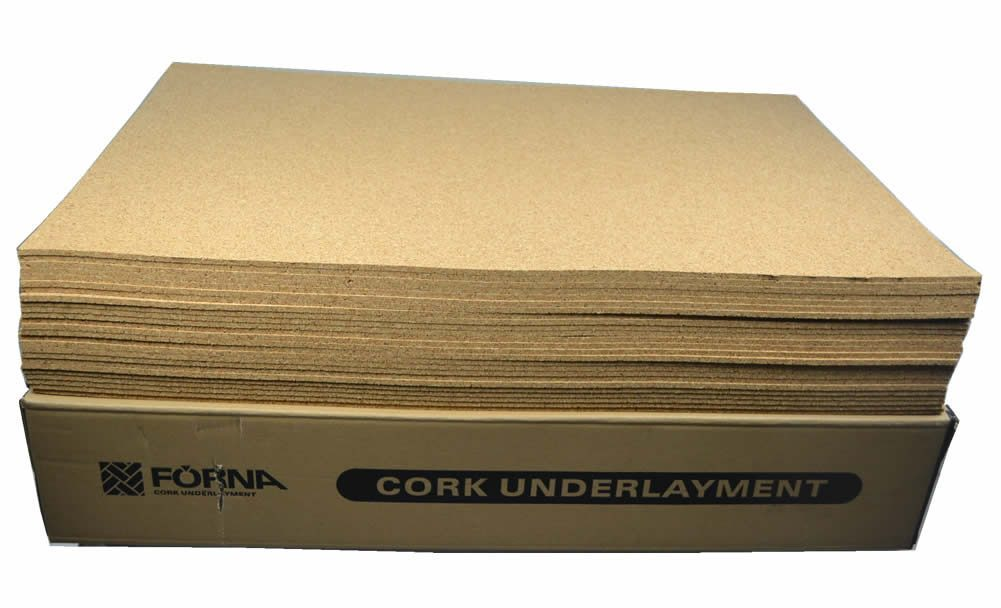 cork underlyament for hardwood floors
