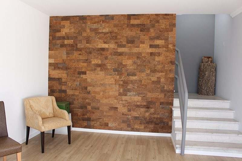 Cork wall panels forna 7mm raw bark handmade for Cork flooring on walls