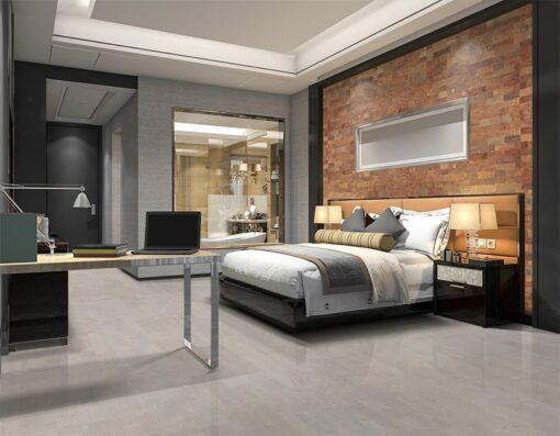cork wall panels modern luxury bedroom suite and bathroom